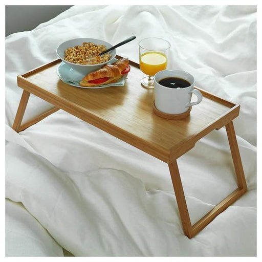 Resgods Bamboo Bed Tray Table exxab.com