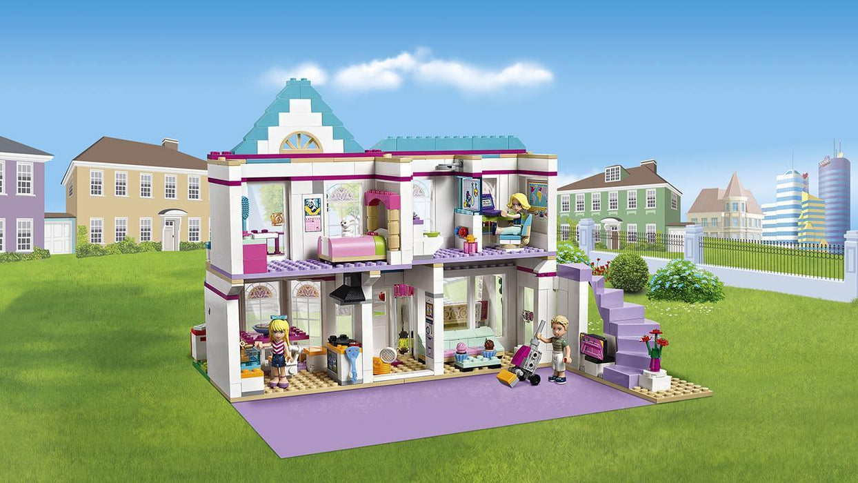 Bela Friend Girl Stephanie House building blocks exxab.com