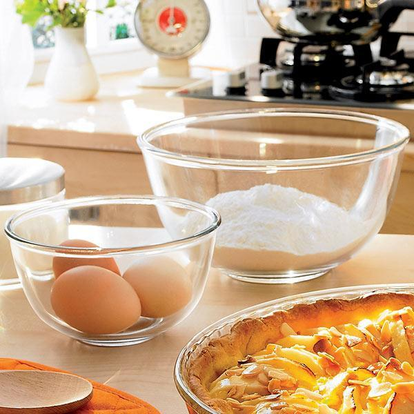 Pyrex Glass Mixing Bowl exxab.com