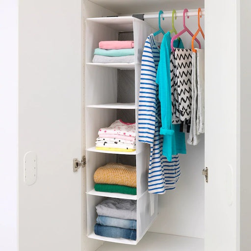 RASSLA Fabric Storage with 5 compartments exxab.com
