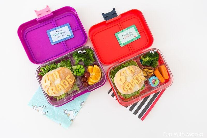 Yumbox Panino lunch box container for kids with 4 compartment