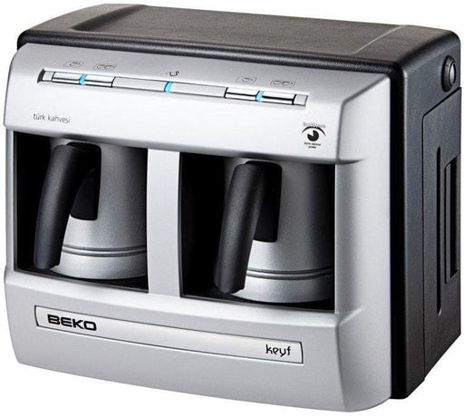 Beko Bkk2113 Double Turkish coffee maker 2 Cups 1200W exxab.com