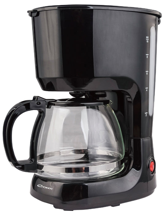Conti CM-1125 Electric drip coffee maker 1.25 Liter, 750 Watt exxab.com