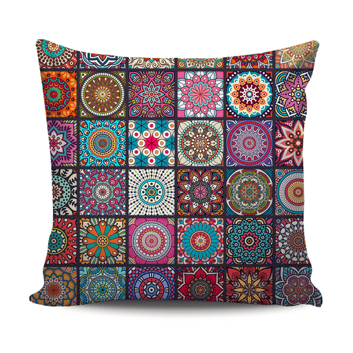 Home modern decoration cushion with colorful pattern exxab.com