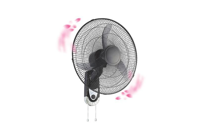 Geepas GF9604 electric wall mount Fan 16 inch with pull cord exxab.com
