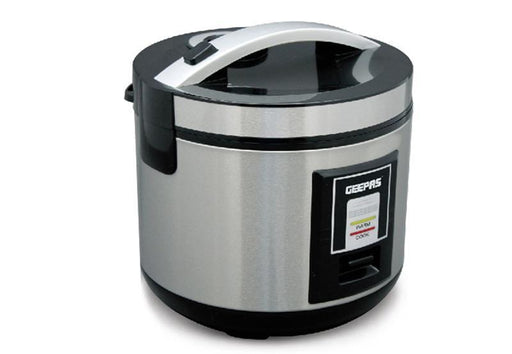 Geepas GRC4330 liter stainless steel rice cooker exxab.com