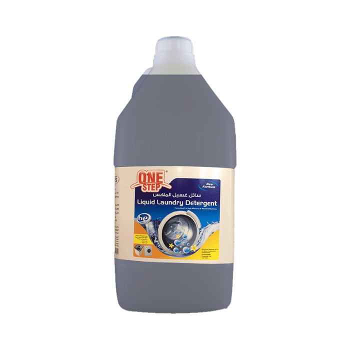 One Step Liquid Laundry Detergent 4 Liters - exxab.com