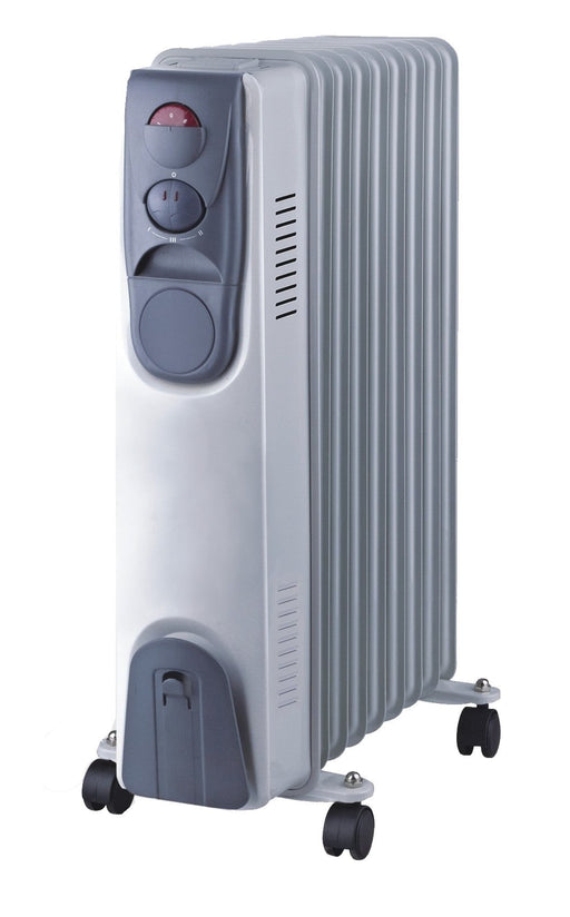 Home Electric HK-72 Electric Heater 1500W Blue Grey exxab.com