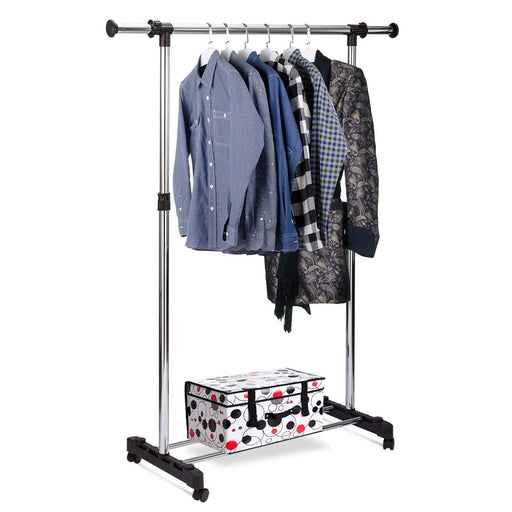Jiu Long Adjustment Stainless Steel Drying Rack Clothes Hanger exxab.com