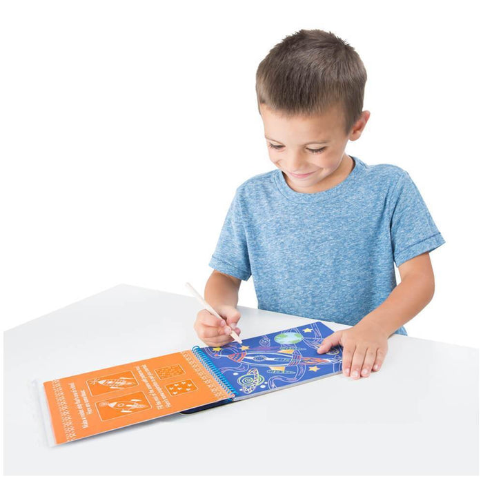 Melissa A Doug 9141 Vehicles Color Reveal Pad with wooden stylus exxab.com
