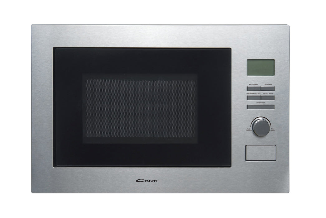 Conti MW-1125G Electric microwave built-In with knob control 25 L capacity,900 Watt exxab.com