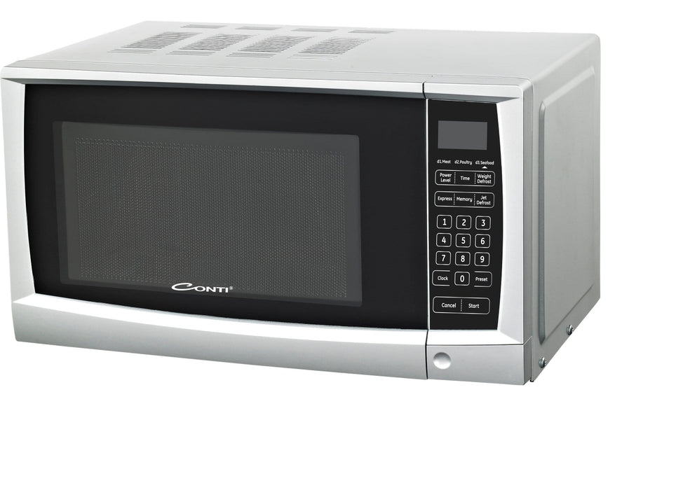 Conti MW-2230-W/S Electric microwave oven with 28L capacity & grill exxab.com