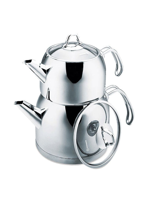 Korkmaz Tea Pot Set 2 Pcs  Provita exxab.com