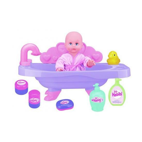 NEW BOY NB912232 BH ACC - BATHTUB WITH DOLL - exxab.com