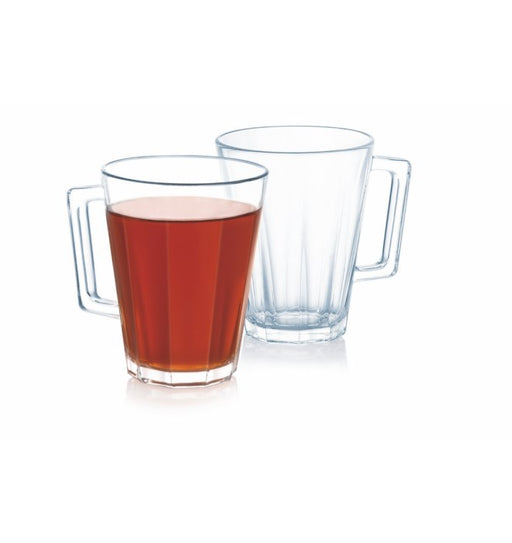 Luminarc P3397 Lacene Glass Mug 25 cl / Set of 6 exxab.com