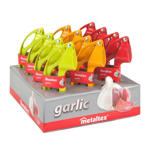 METALTEX Aluminium Garlic Press exxab.com
