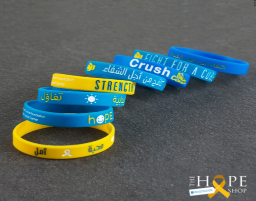 Simple wristband to spread positivity (to support the treatment of cancer patients) exxab.com