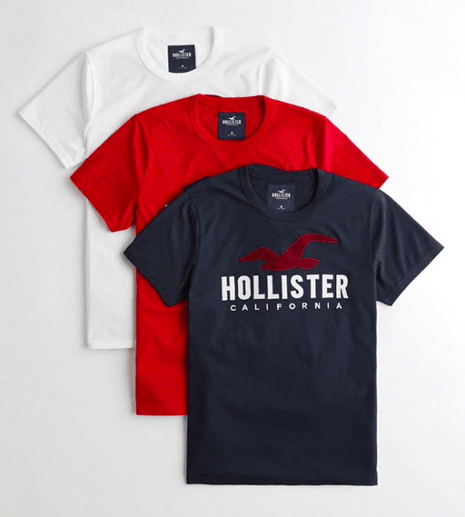 Hollister Mens Super Slim Fit Graphic Tee exxab.com