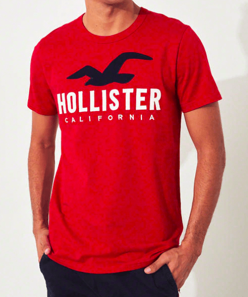 Hollister Mens Super Slim Fit Graphic Tee - exxab.com
