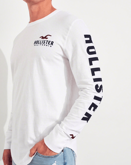 Hollister Mens Graphic Tee exxab.com
