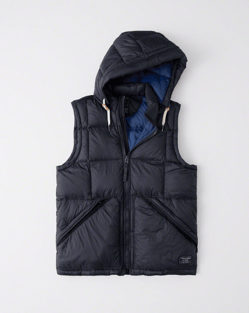 Abricormbie and Fitch DOWN-FILLED Puffer Vest exxab.com