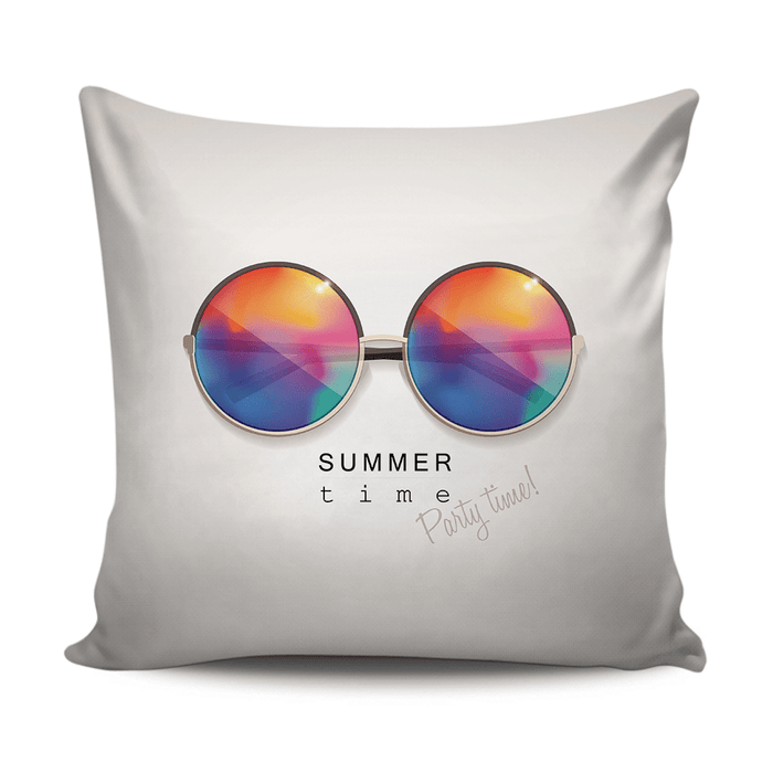 Summertime home cushions decor with eyeglasses pattern exxab.com