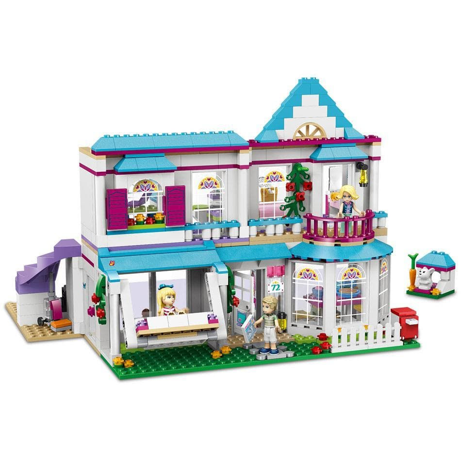 Bela Friend Girl Stephanie House building blocks