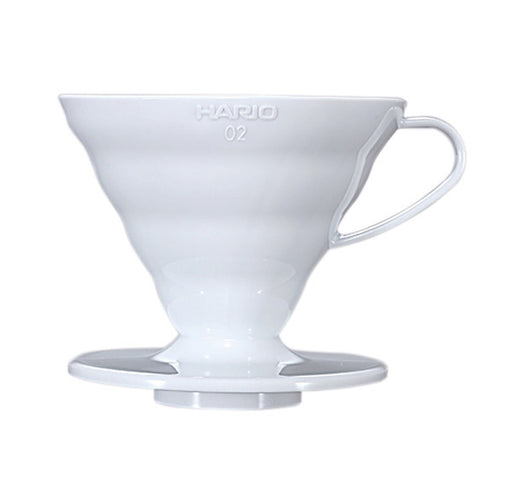 HARIO V60 Plastic Coffee Dripper White 02 exxab.com
