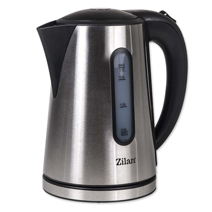 Zilan 8502 Electric kettle,1.7 L stainless steel water heater, 2200 watt exxab.com