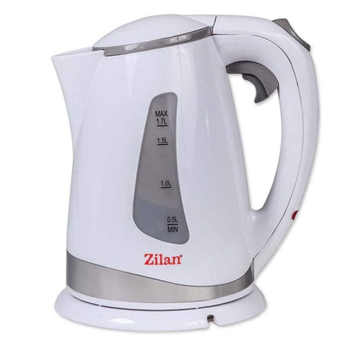 Zilan 8519 Electric kettle, 1.7 L plastic water heater 2200 watt - exxab.com