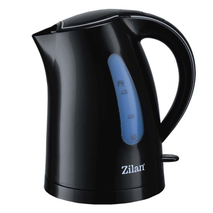 Zilan 9638 Electric kettle, 1.7 liter plastic water heater, 2200 watt exxab.com