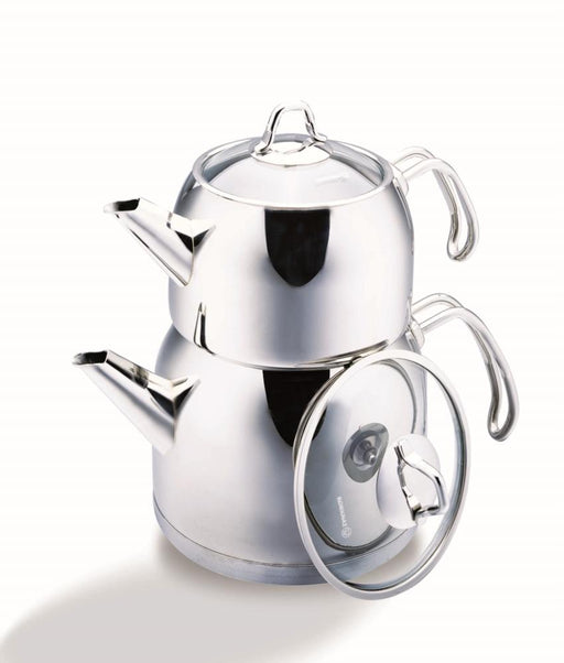 Korkmaz Tea Pot Set 2 Pcs Provita Maxi exxab.com