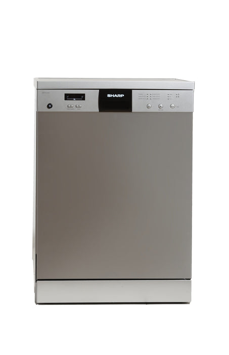 Sharp QW-V615-SS3 Electric stainless steel dishwasher exxab.com