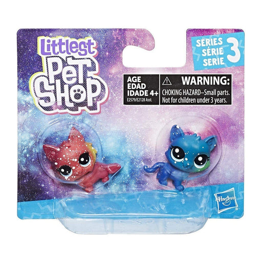 Hasbro E2128 Figures Littlest Pet Shop Cosmic Pounce 2-pack