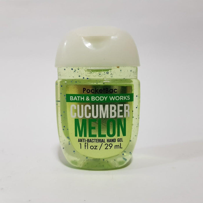 Bath & Body Works PocketBac Anti-Bacterial Hand Gel, Cucumber Melon 29ml - exxab.com