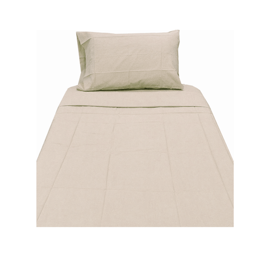 Single Microfiber bed fitted sheet and pillow case S19 - exxab.com