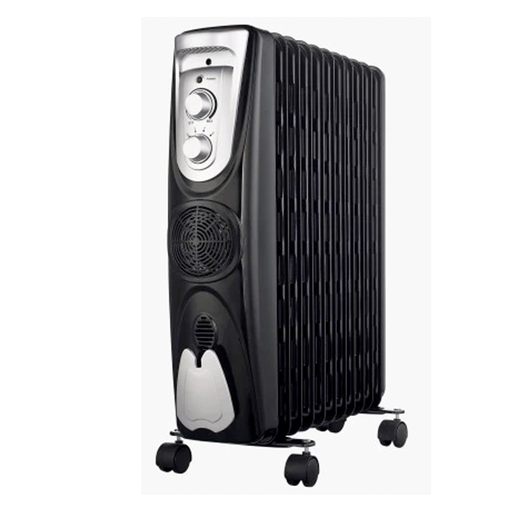 Midea NY2311-15EF Oil Radiator 11 Fins Fan Heater exxab.com