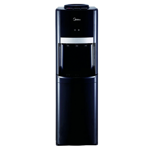 Midea YL1337S-BB Black water dispenser with Refrigerator & three water faucets exxab.com