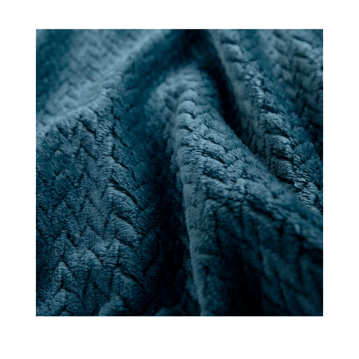 Comfort Winter Flat Fleece Blanket - exxab.com