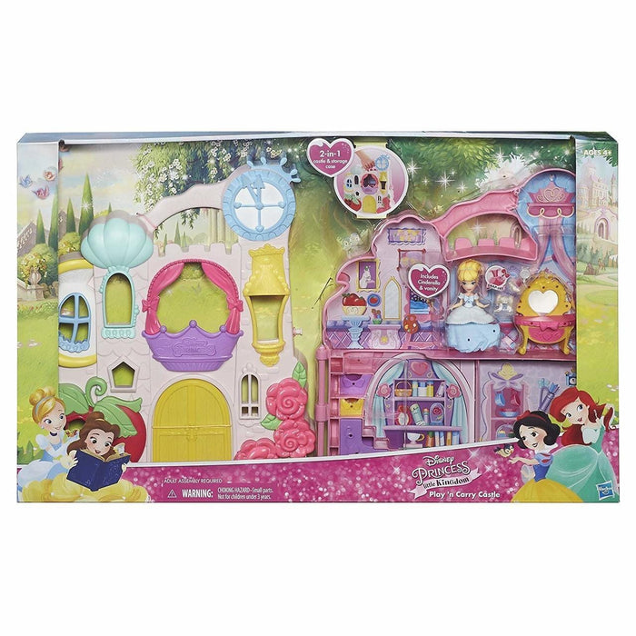 Hasbro B6317 Disney Princess Play N' Carry Castle - exxab.com