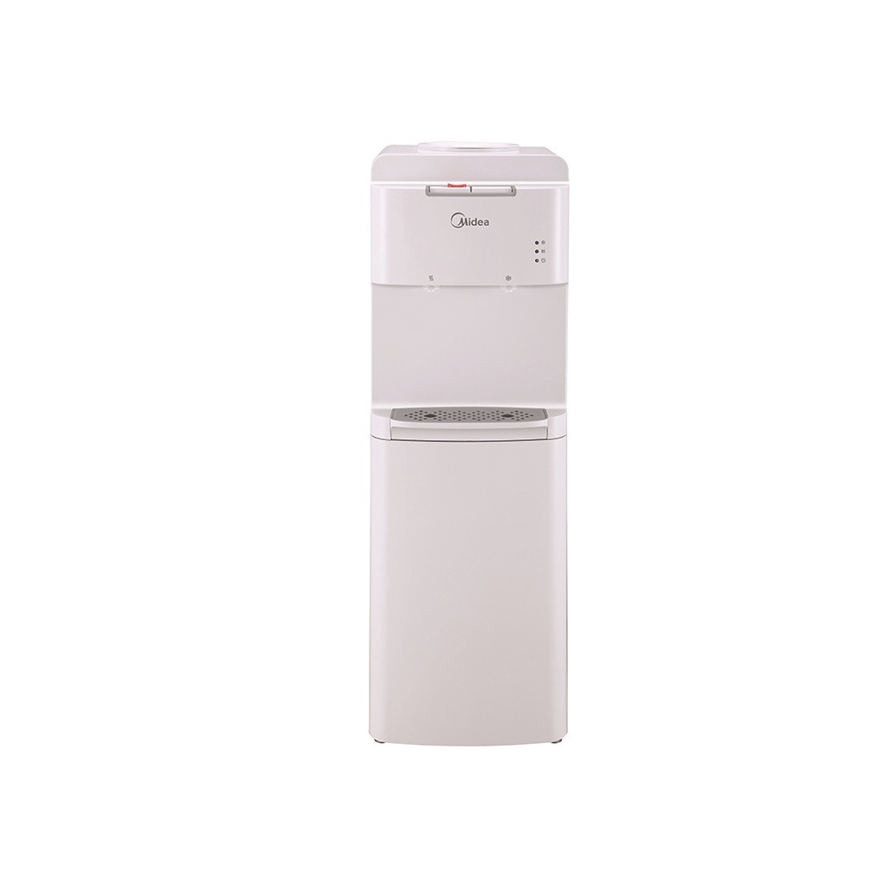 Midea YL1536W Water dispenser with two water faucets, white color exxab.com