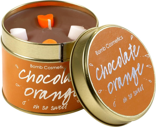 Chocolate Orange Tin Candle exxab.com