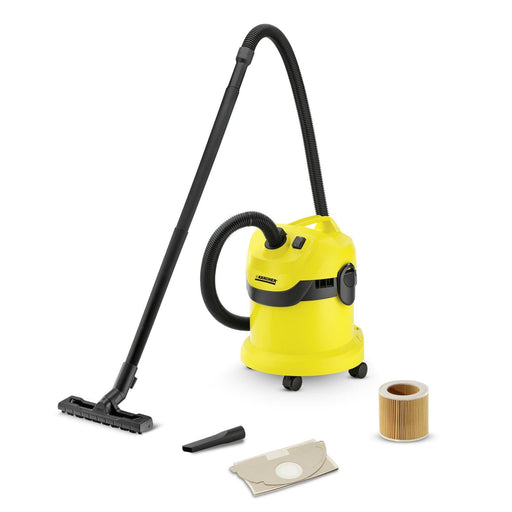 Karcher WD1 Wet and Dry Vacuum cleaner 1000W Black & Yellow exxab.com
