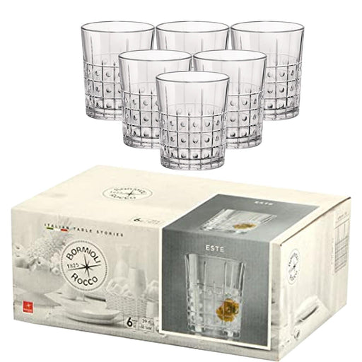 Bormioli 666226 Este Water Glass Set of 6 Pieces exxab.com