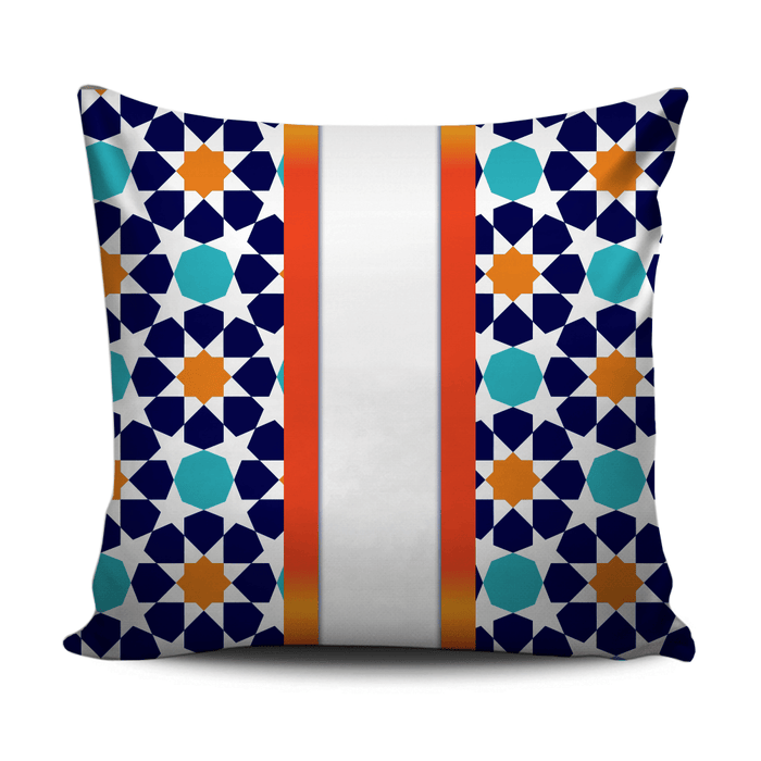 Home decoration cushion with Andalusian style pattern D2 - exxab.com