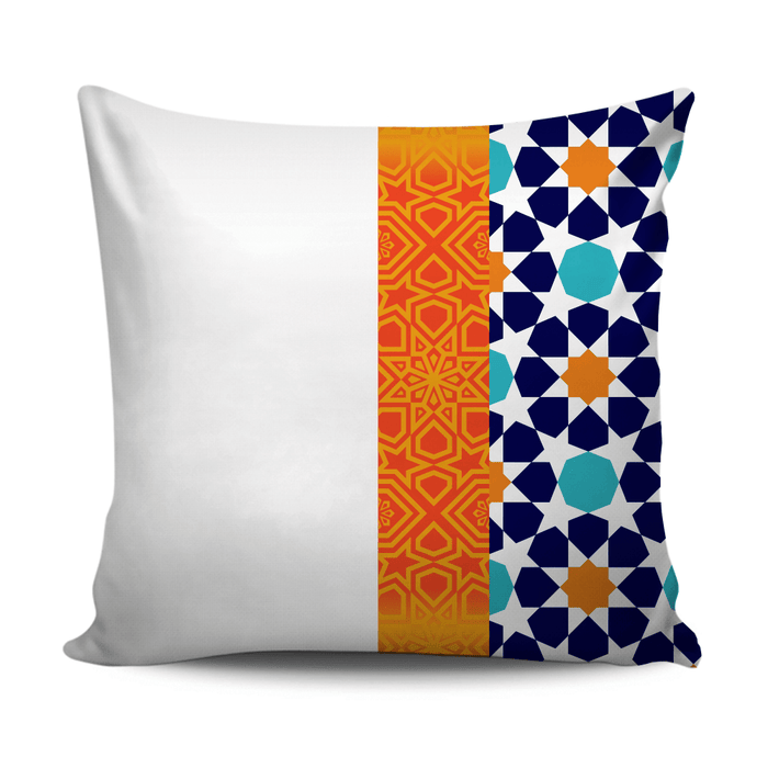 Home decoration cushion with Andalusian style pattern D4 - exxab.com