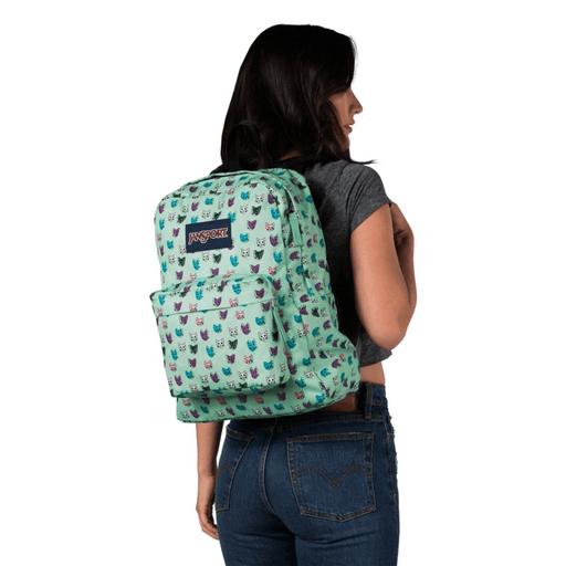 JanSport superbreak pattern backpack, 25 liter school bag exxab.com