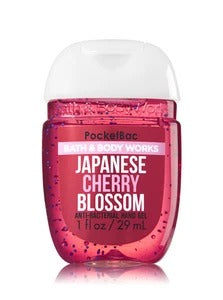 Bath & Body Works PocketBac Anti-Bacterial Hand Gel, Japanese Blossom 29ml exxab.com