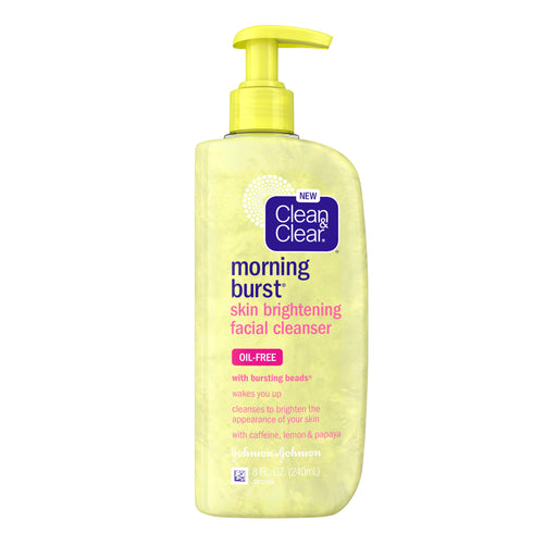 Clean & Clear Morning Burst Skin Brightening Facial Cleanser exxab.com