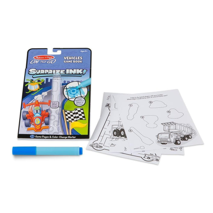 Melissa A Doug 5286 Surprise Ink, Vehicles Travel Activity Book exxab.com